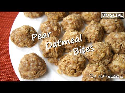 Pear Oatmeal Bites