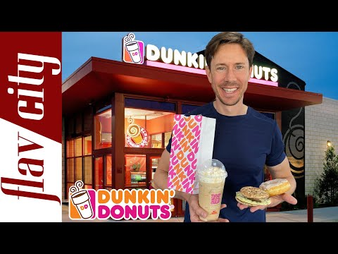 Dunkin' Donuts Menu Review - Is Anything Healthy?!