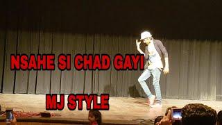 Nashe si chad gayi// mj style (befikre movei) ranveer singh//vaani A s khan dancer