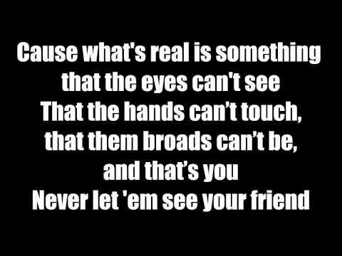 J. Cole - Crooked Smile (Lyrics On Screen) ft. TLC