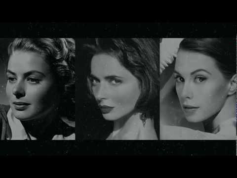 Ingrid Bergman, Isabella Rossellini e Elettra Rossellini Widemann