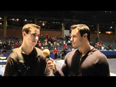 David Durante interviews Jake Dalton - 2011 Winter Cup Challenge Day One Leader