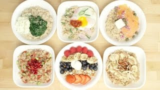 6 Oatmeal Bowls That Are Almost Too Pretty To Eat