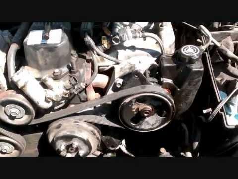 Serpentine Belt Removal Jeep Grand Cherokee - YouTube