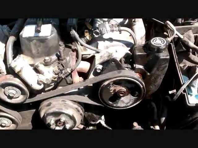 Changing Serpentine Belt Jeep 1995 2002 Wrangler Youtube