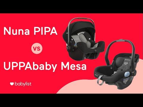 Nuna PIPA Vs. UPPAbaby Mesa: Infant Car Seat Comparison - Babylist