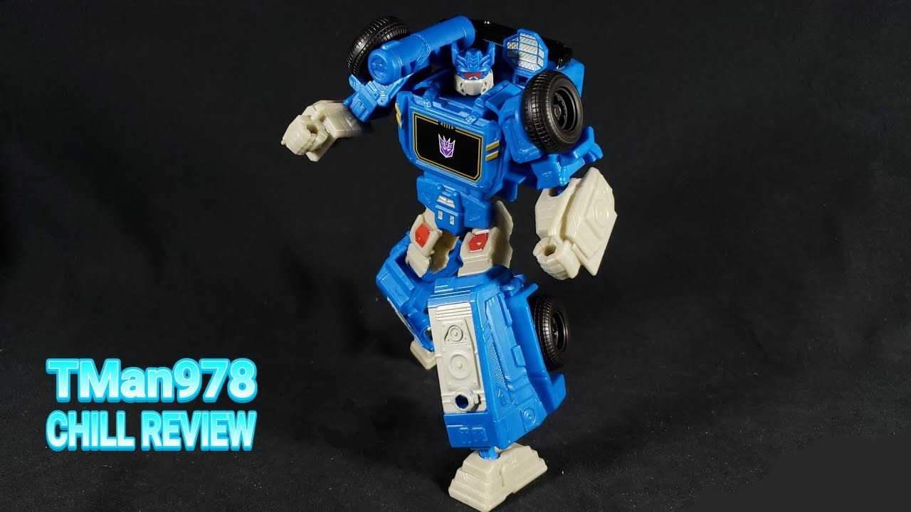 Transformers Authentics Soundwave CHILL REVIEW By TMan978