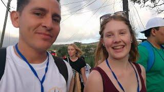 hice una amiga alemana en la jmj panam