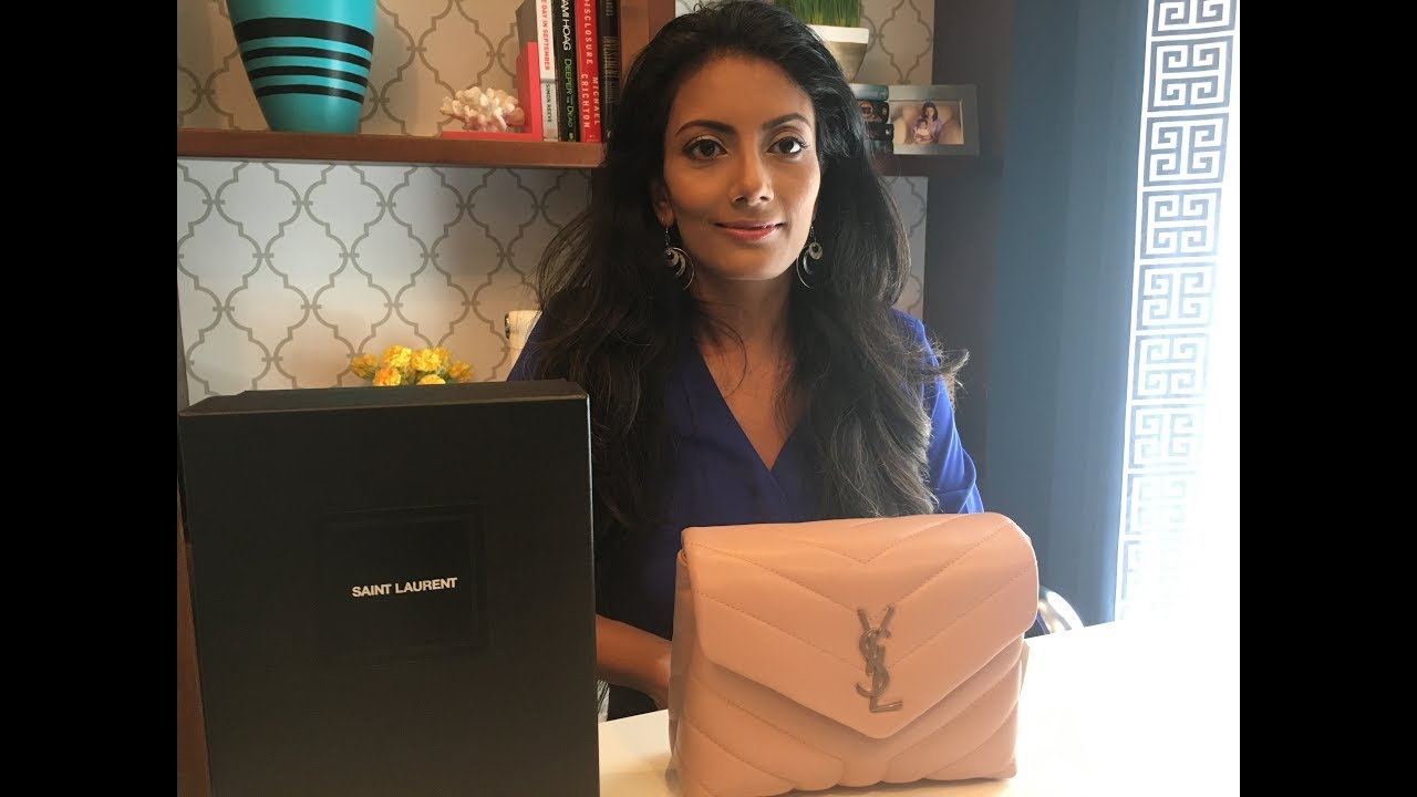 Ysl Saint Laurent Loulou Toy Bag Unboxing Amp Review Youtube