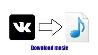 Как скачать музыку или видео из контакта без сторонних программ и расширений?