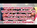 Una de las grandes web porno advierte de que cientos de españoles buscan el vídeo de La Manada