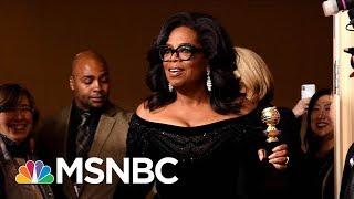 "Oprah Winfrey On Running For President: ""It's Not In My DNA"" | Morning Joe | MSNBC"