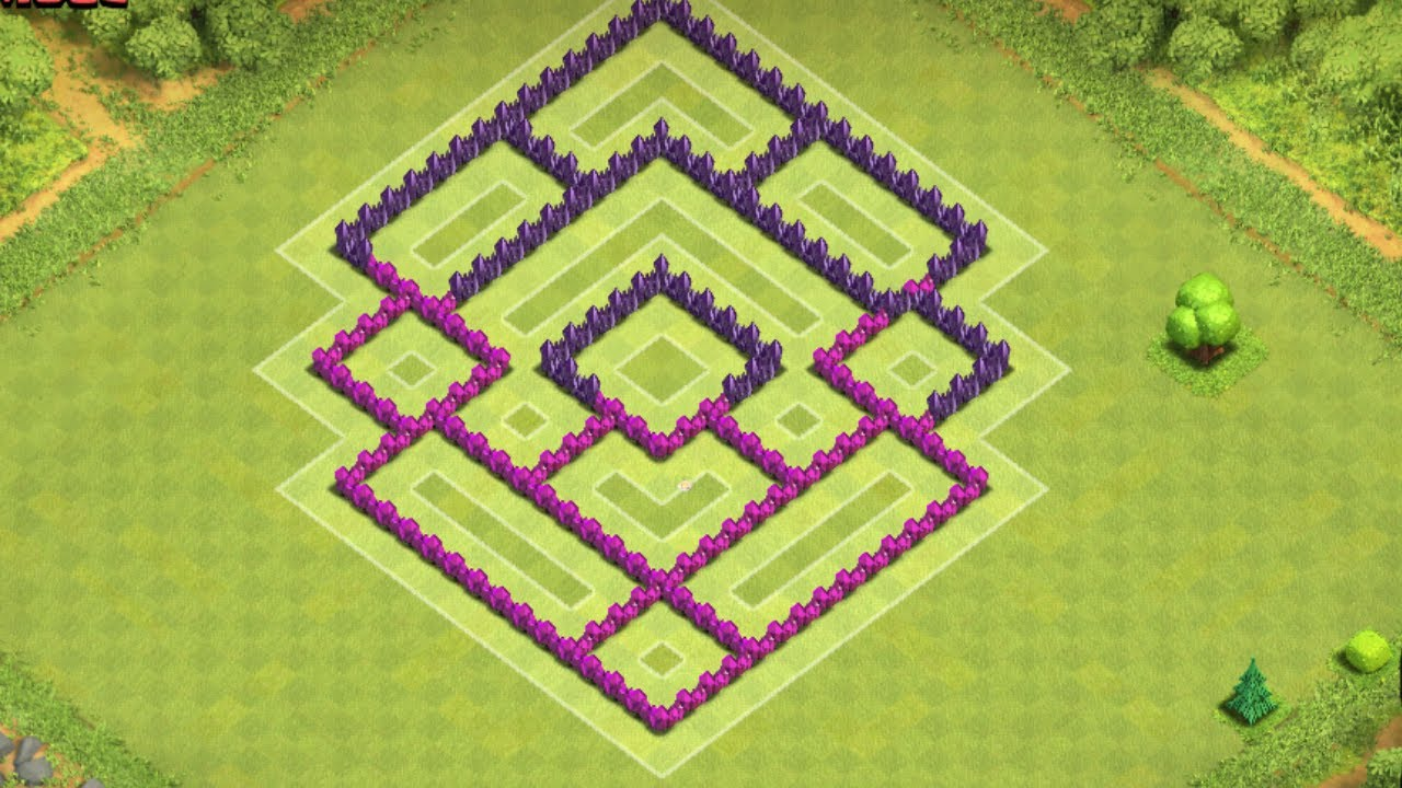 wall design for th7 with Watch on Poze Cu Base Th8 further Base Clash Of Clans Terunik Dan Terbaru further Popular Coc Th10 War Bases moreover Best Builder Hall 6 Bases as well Watch.