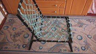 Самодельное кресло для рыбалки.