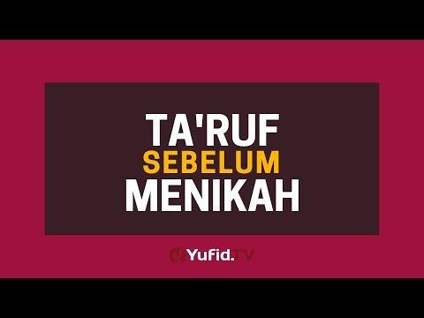 Ta'aruf Sebelum Menikah (Cara Taaruf Sesuai Sunnah) - Poster Dakwah Yufid TV