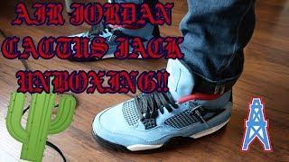 "Travis Scott ""Cactus Jack"" Air Jordan Unboxing!! + On Feet!!"