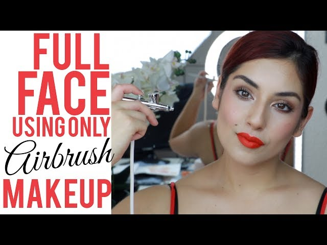 How To Airbrush Makeup Aeroblend Airbrush Makeup