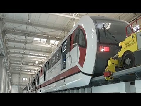 Beijing's first maglev line begins comprehensive testing