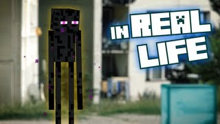 hunt for enderman minecraft in real life