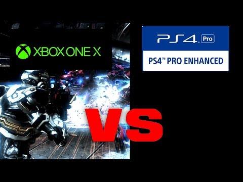 Vanquish Backwards Compatibility Graphics Comparison (Xbox One X) Vs (PS4 Pro)