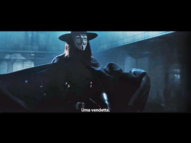 V de Vingança - Trailer Legendado [HD 1080p]