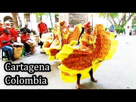 Afro-Colombian Dance and Music - Cartagena Colombia 2018