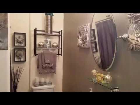 Small Glamorous Guest Bathroom Tour