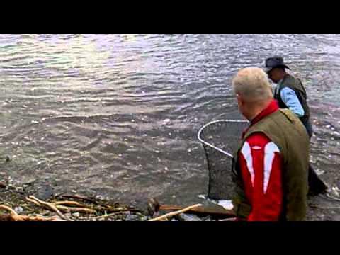 Laksefiske i Hokksund - Lars- 14/06-11 kl. 21.15