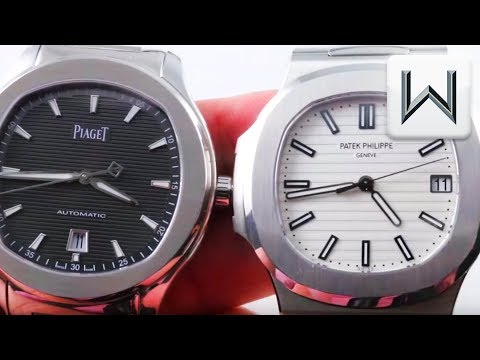 Piaget Polo S Vs Patek Philippe Nautilus 5711  (G0A41003)  5711/1A-011 Watch Review