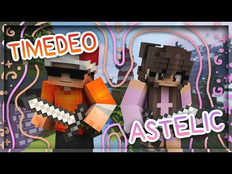 astelic n timedeo play hypixel bedwars (he sucks)