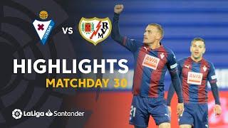 Highlights SD Eibar vs Rayo Vallecano (2-1)