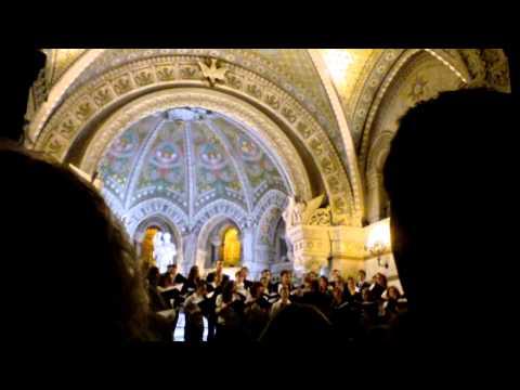 Pro Musica Hungarica Choeur de l'Université Lóránd Eötvös de Budapest - Lyon Fourvière 3/13