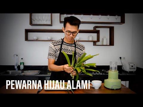 Tips membuat pewarna hijau alami