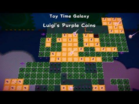 Super Mario Galaxy - All Purple Coin Missions