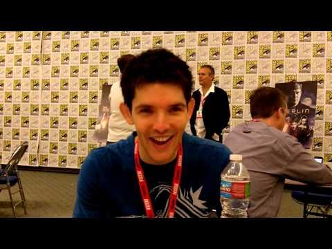 Merlin: Colin Morgan Interview -- San Diego Comic-Con 2010