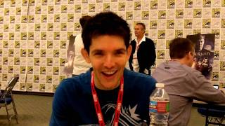 Merlin: Colin Morgan Interview -- San Diego Comic-Con 2010