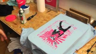 Mehrfarbiger Siebdruck - Neues Siebdruckgerät von Siebdruckland