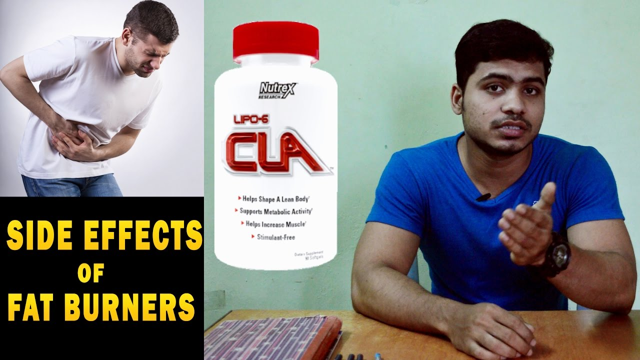side effects of fat burner CLA , Q/A -2 a man suffered
