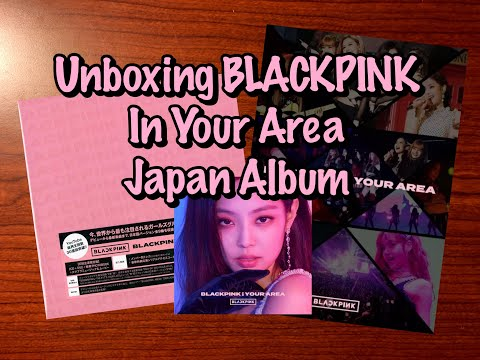 BLACKPINK In Your Area Japan Album Limited Edition Unboxing