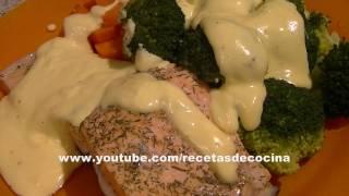 Salsa holandesa fácil en thermomix TM31 - Recetas de salsas