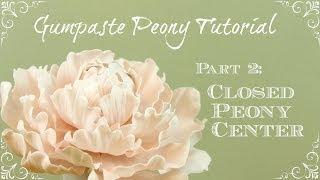 How to Make a Closed Peony Center