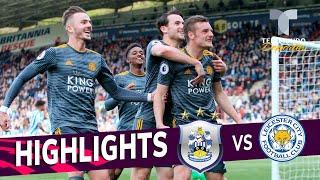 Huddersfield vs. Leicester City: 1-4 Goals & Highlights | Premier League | Telemundo Deportes