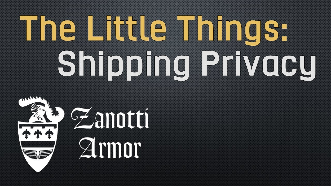 Shipping Privacy