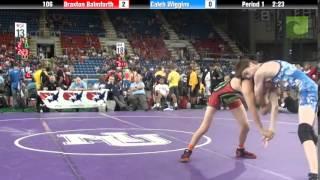 106 Braxton Balmforth vs. Caleb Wiggins