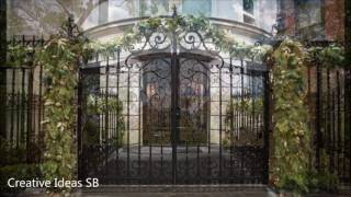 Over 50 Creative GATE Ideas 2016 - Amazing Gate Home Design -newest home decor