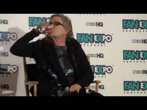 Vancouver Fan Expo 2015 - Carrie Fisher