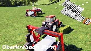 Spending 2M $ loan★Farming Simulator 2019 Timelapse★Oakfield Farm #1