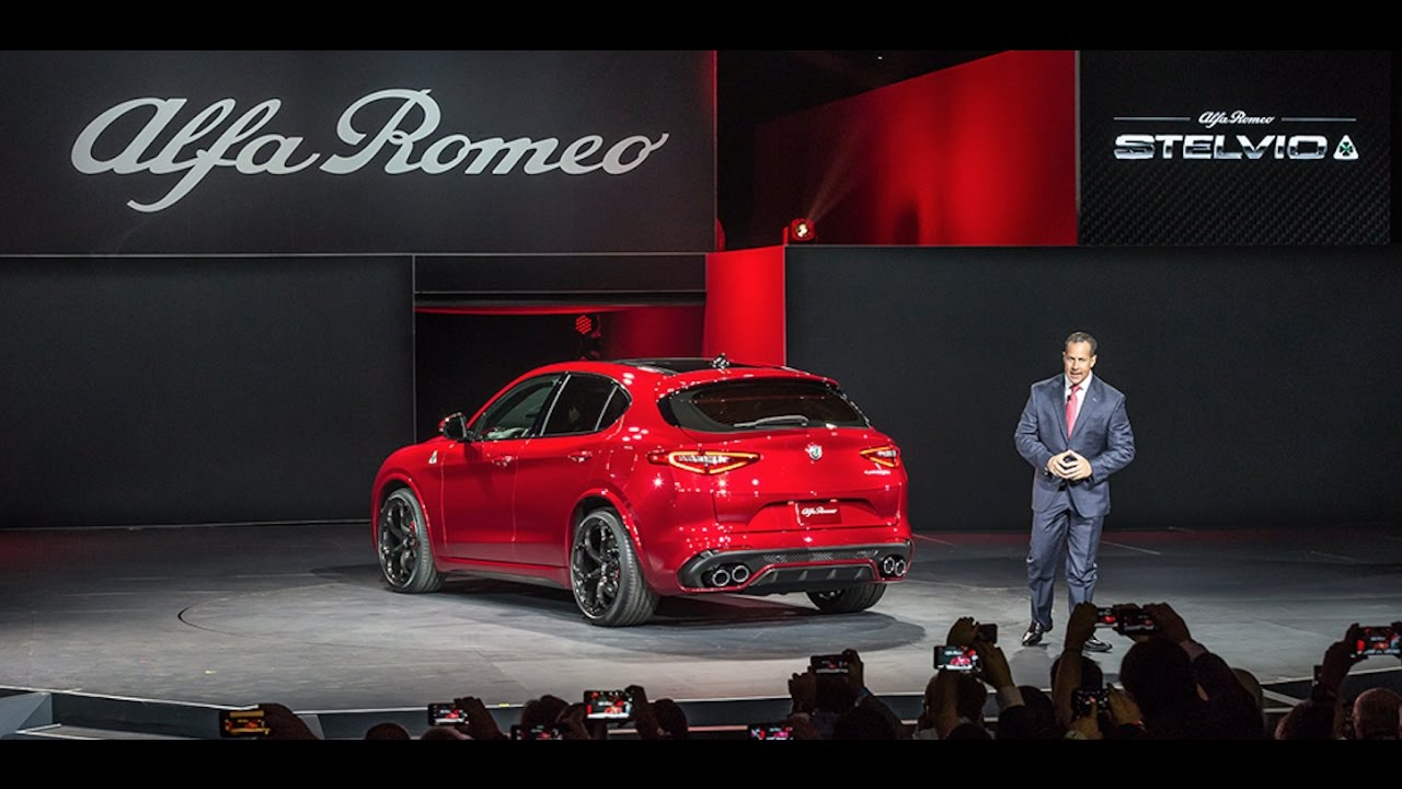 Alfa Romeo Los Angeles >> Alfa Romeo Stelvio Global Reveal I 2016 Los Angeles Auto Show I Alfa