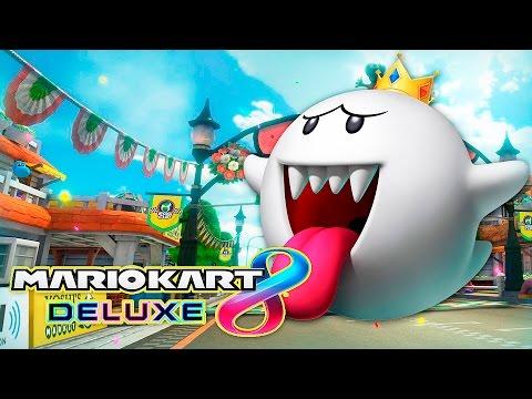 "MARIO KART 8 DELUXE: DSIMPHONY vs BLESSUR, PRIMEROS ""LEÑASOS""!   Nintendo Switch."