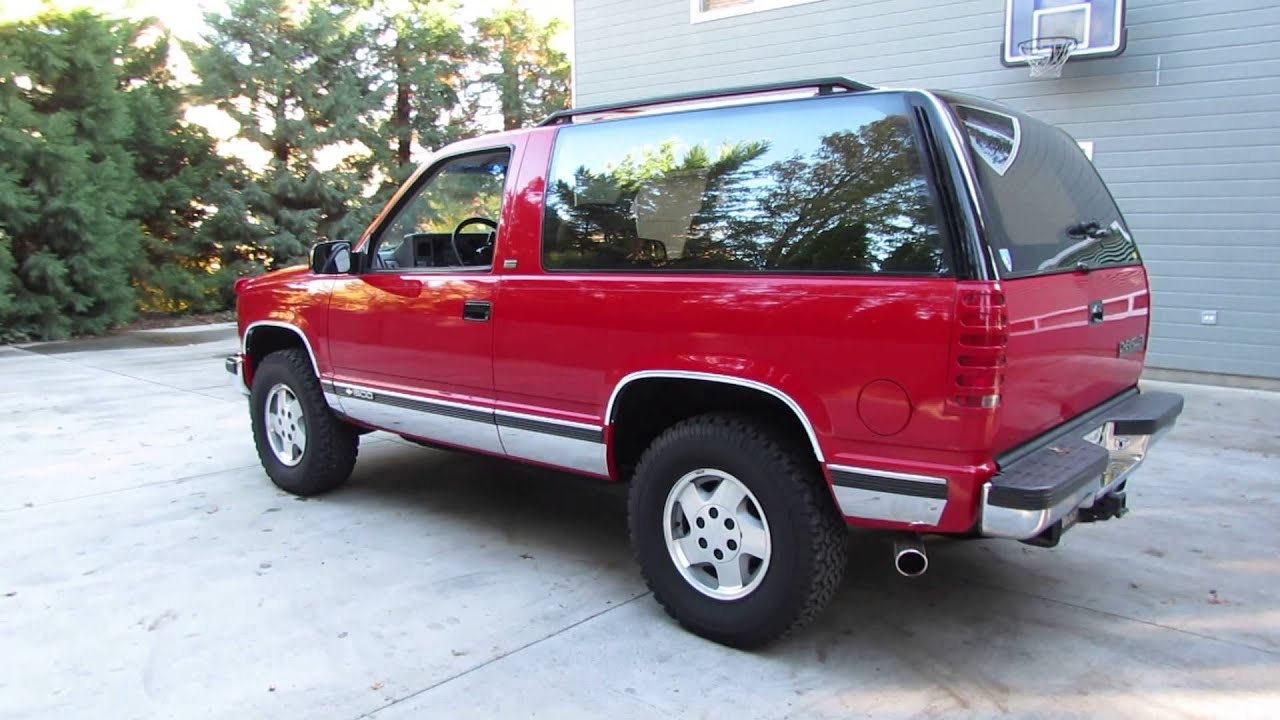 Maxresdefault on 1993 Chevrolet Blazer Sport